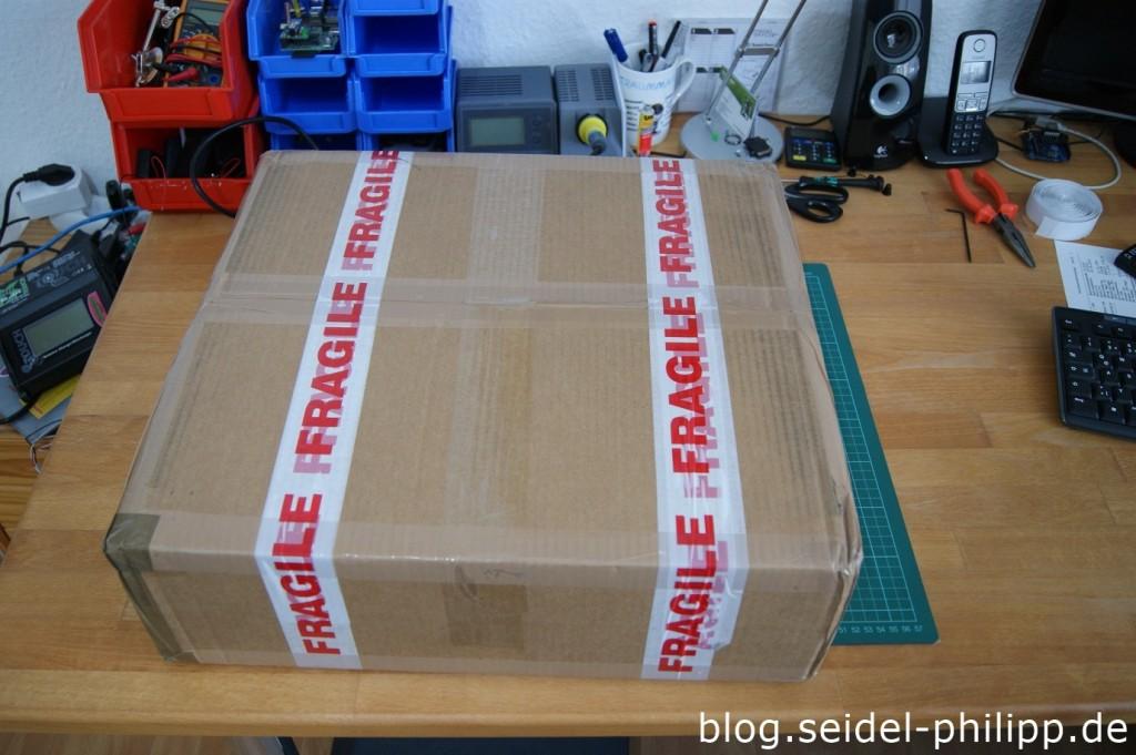 Paket geschlossen