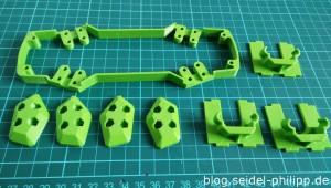 3D Druckteile für einen ZMR250