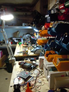 Workbench - ordered chaos