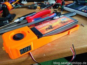 Smart LiPo Box assembly