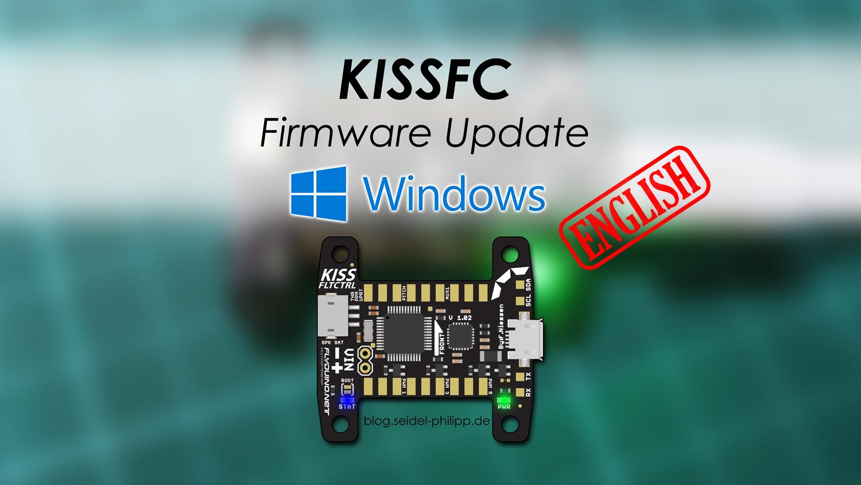 Flyduino KISS FC Firmware Update—Windows (english)