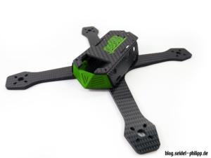 Viper X-Treme Monocoque FPV Frame Prototyp
