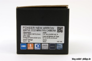 Foxeer Arrow V2 Box