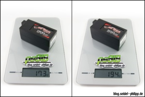 gensace tattu shield hardcase lipo battery weight