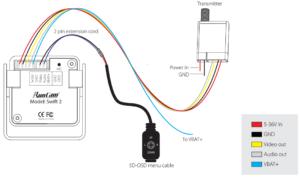 RunCam Swift 2 wiring