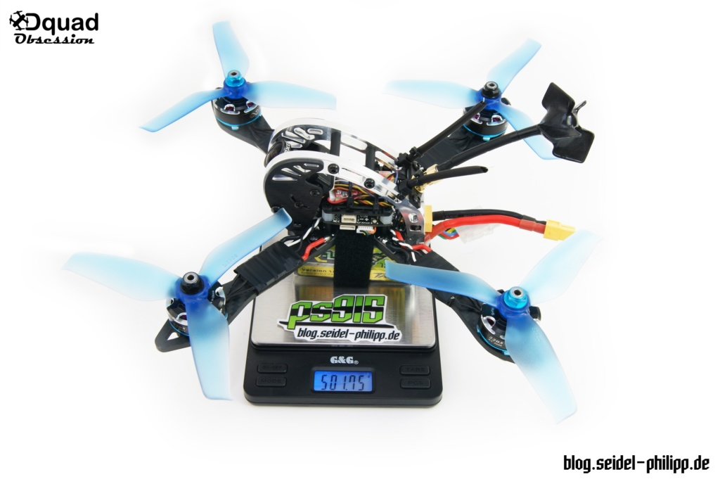 Dquad Obsession FPV Frame Gewicht