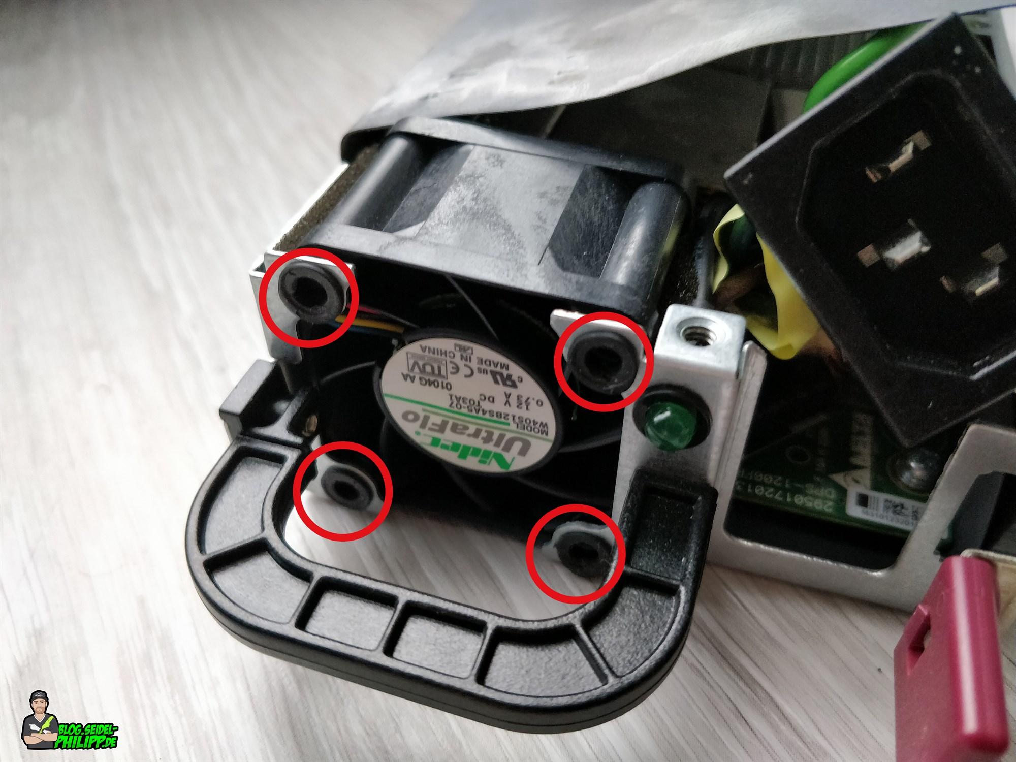 HP DPS-1200FB Power Supply Hack for charging LiPos (12 V / 24 V)