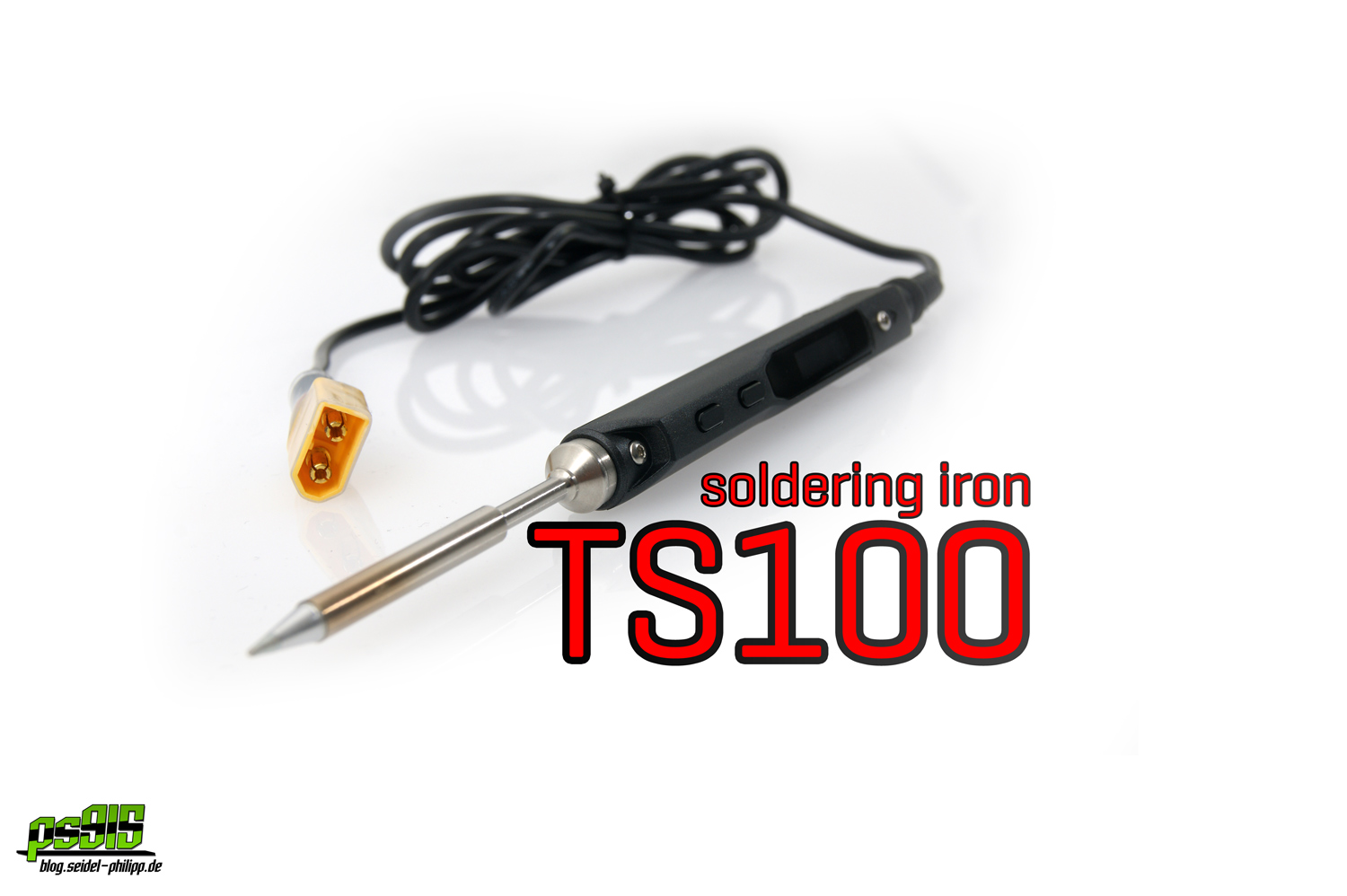 TS100 - portable soldering iron