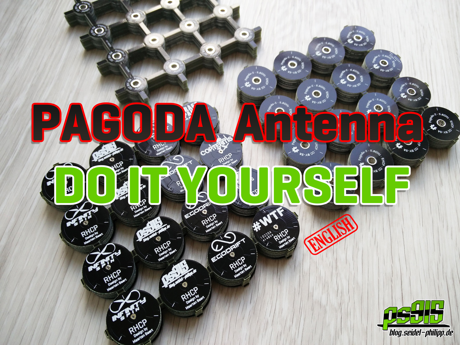 Do It Yourself Pagoda Fpv Antenna For Less Than 2 Design Calculator Circuit In This Article I Would Like To Show You How Can Build The Popular Antennas We Simply Order 160 Pcbs Via