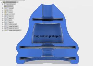 Pagoda FPV Antenna Flex Druckteil aus SainSmart TPU