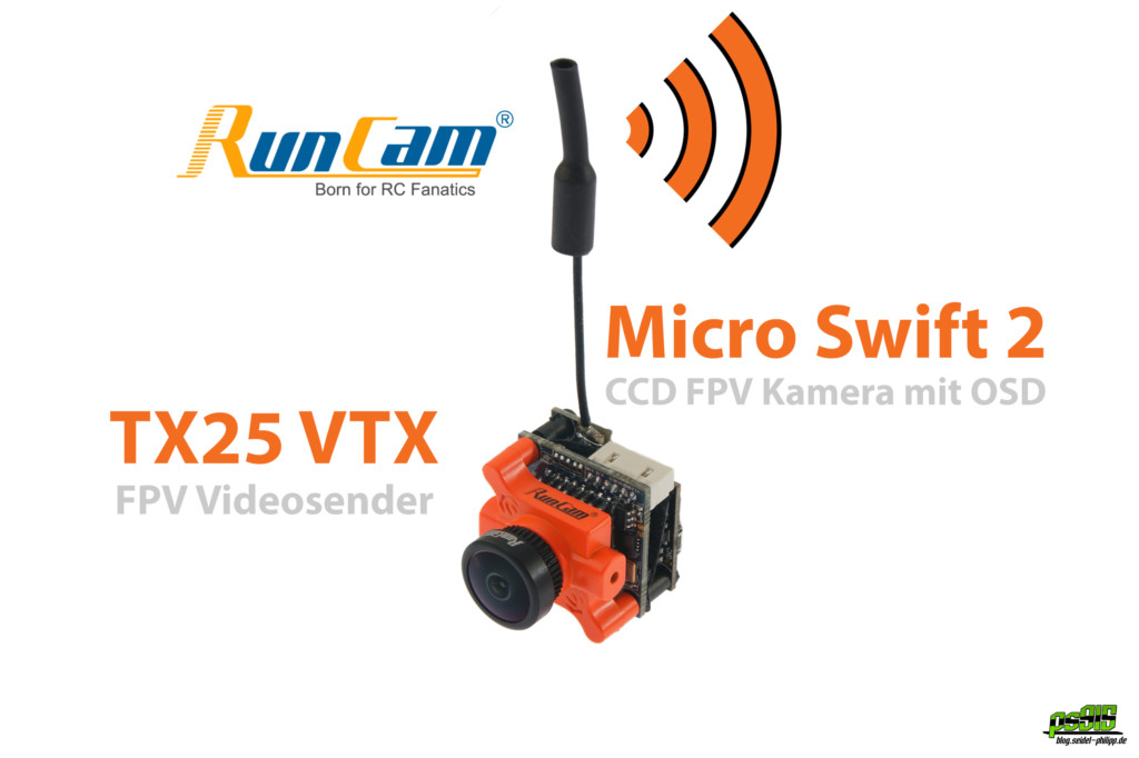 RunCam Micro Swift 2 TX25 VTX Videosender