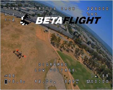 Möglichkeiten des Betaflight OSD