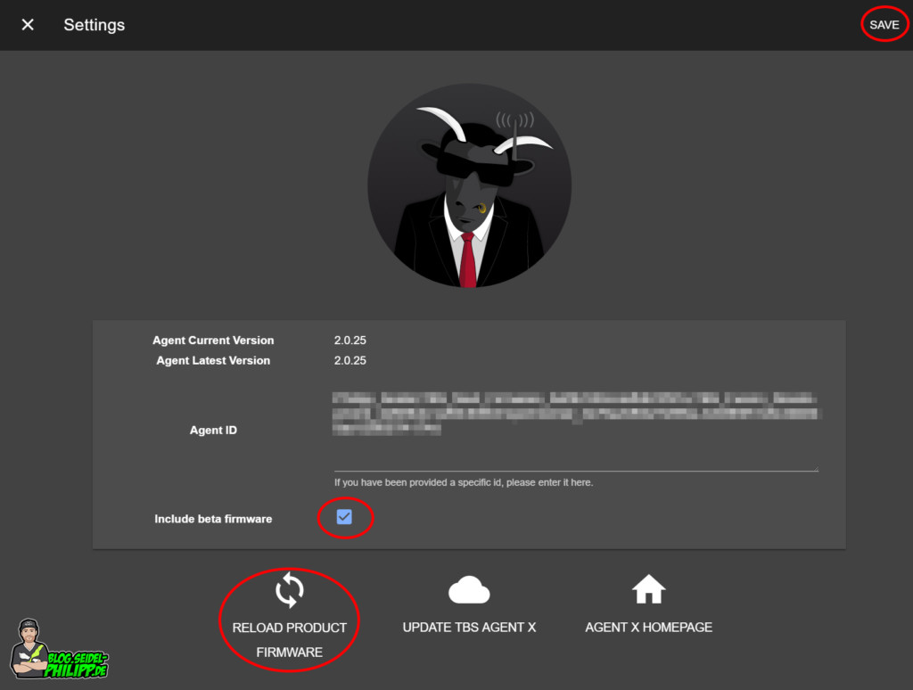 Team Blacksheep Cloud Agent X